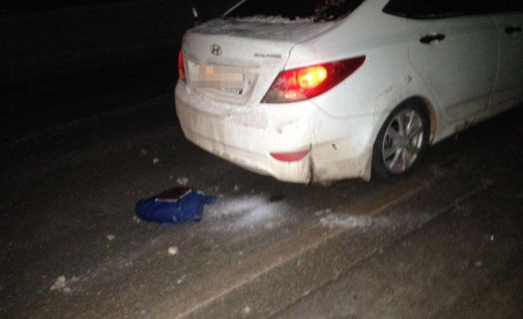 Ночью в Уфе под колесами иномарки погибла молодая девушка