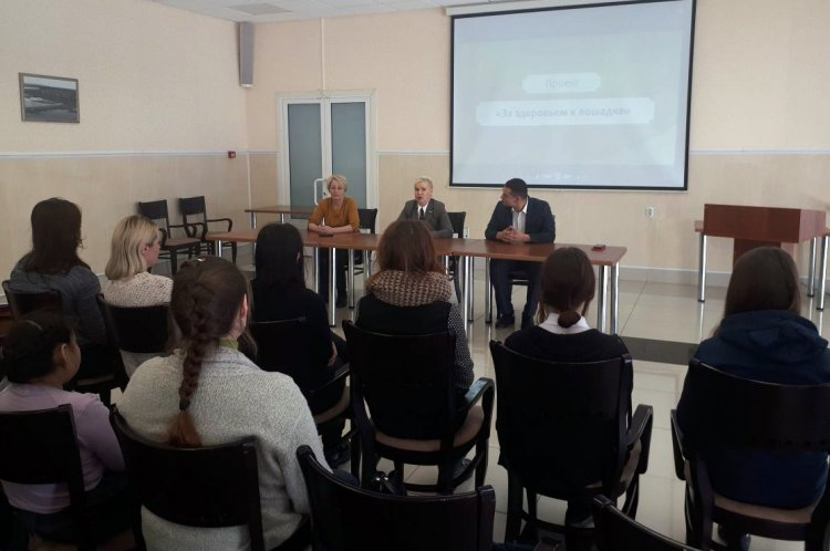 В Уфе волонтеры прошли обучение по иппотерапии