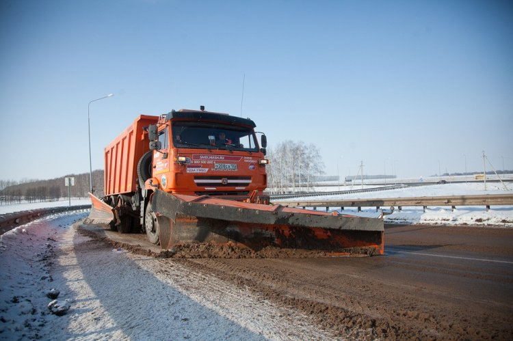 Дорожники ФКУ Упрдор «Приуралье» ликвидировали последствия непогоды на федеральных автодорогах Башкирии