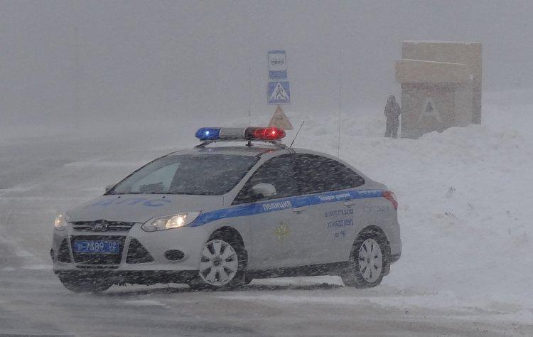 Непогода в Башкирии: ГИБДД выступила со спецобращением