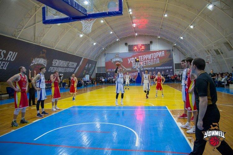 Баскетболисты «Уфимца» сразятся с «Динамо-МГТУ» из Майкопа