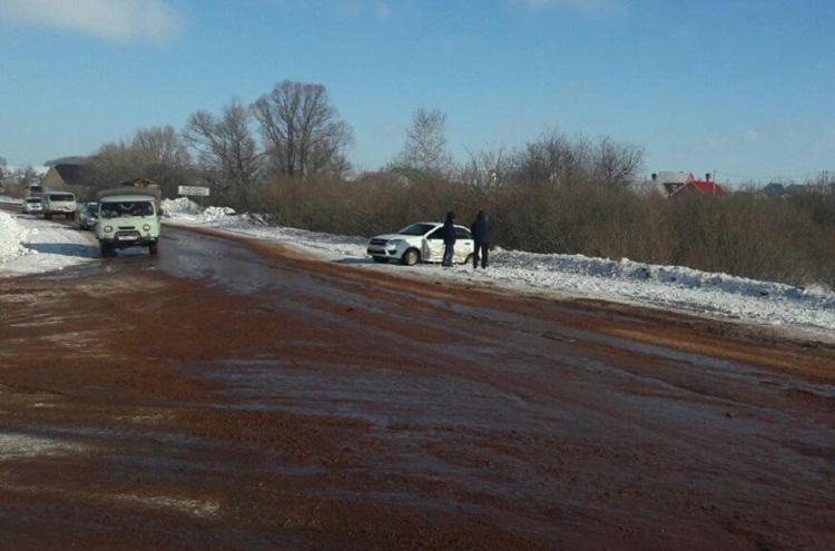 Два водителя пострадали в ДТП в Белебеевском районе Башкирии