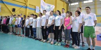 В Стерлитамаке состоялось  торжественное открытие фестиваля ГТО среди  работников предприятий