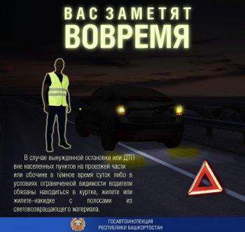 Водителей в России обязали носить светоотражающие жилеты