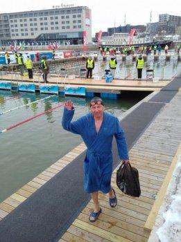 Морж из Башкортостана Рустем Хангильдин завоевал две медали на чемпионате мира по зимнему плаванию в Эстонии