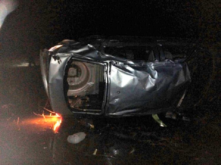 Водитель «Skoda Octavia» погиб, опрокинувшись в кювет в Башкирии