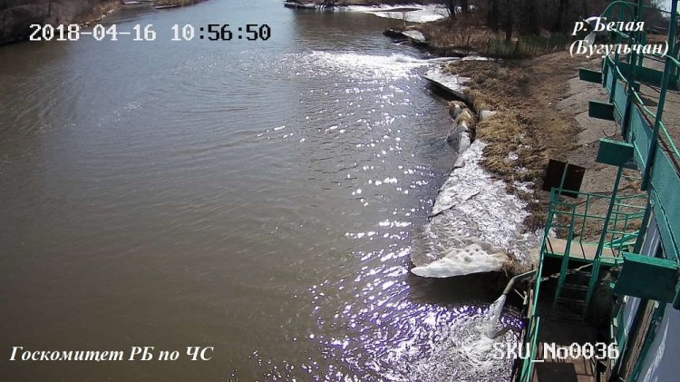 На больших реках Башкирии начался рост уровня воды