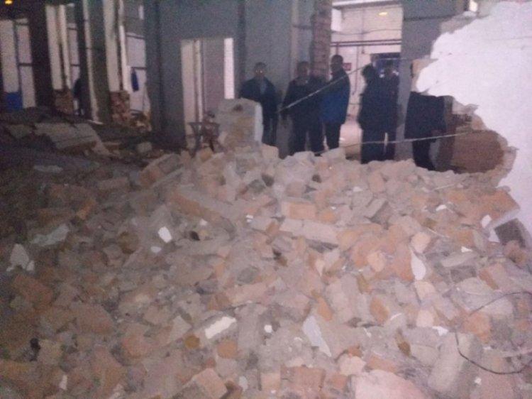 В Стерлитамаке рухнула стена склада: есть пострадавшие