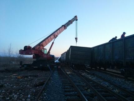 Три вагона с удобрениями сошли с путей в Башкирии