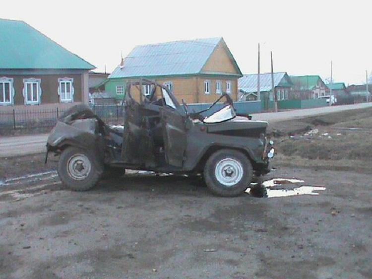 В Башкирии в результате ДТП погиб водитель УАЗа