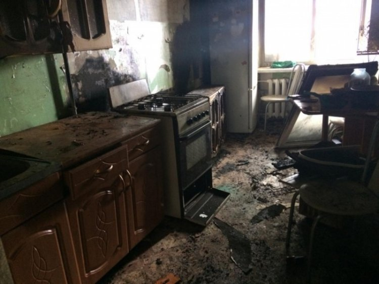 Из-за пожара в Башкирии эвакуировали 75 человек, из них 26 детей