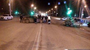 В Стерлитамаке пьяный лихач на Маzda выехал на «встречку» и протаранил Fiat