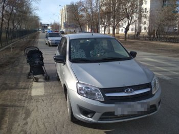 В Башкирии автомобиль на пешеходном переходе сбил годовалого ребенка с бабушкой