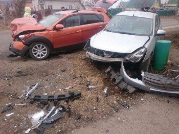 ДТП в Стерлитамаке: «Nissan» не уступил дорогу «DFM»