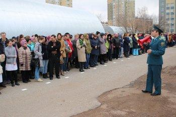 Противопожарная тренировка прошла в Уфимском научном центре РАН