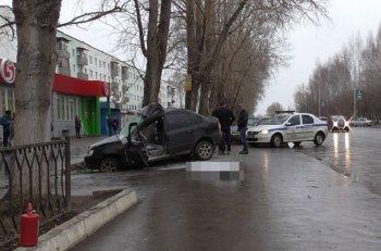 Смертельное ДТП в Башкирии: «Ладу Калину» отрикошетило в дерево
