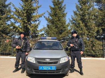 В Уфе росгвардейцы задержали подозреваемого в разбойном нападении