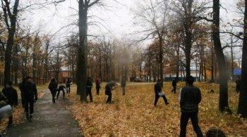 В Башкирии физрук и восьмиклассники спасли женщину от насильника