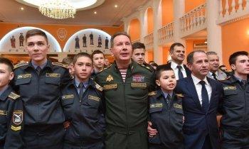 Кадеты Башкортостана посмотрят репетицию Парада Победы на Красной площади
