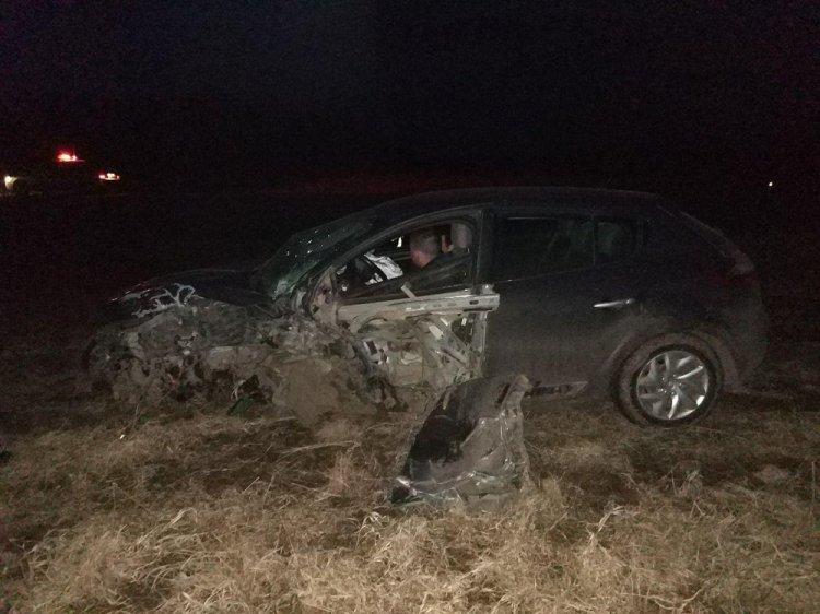 Пьяное ДТП в Башкирии: на трассе «в лобовую» столкнулись два «Рено Меган»