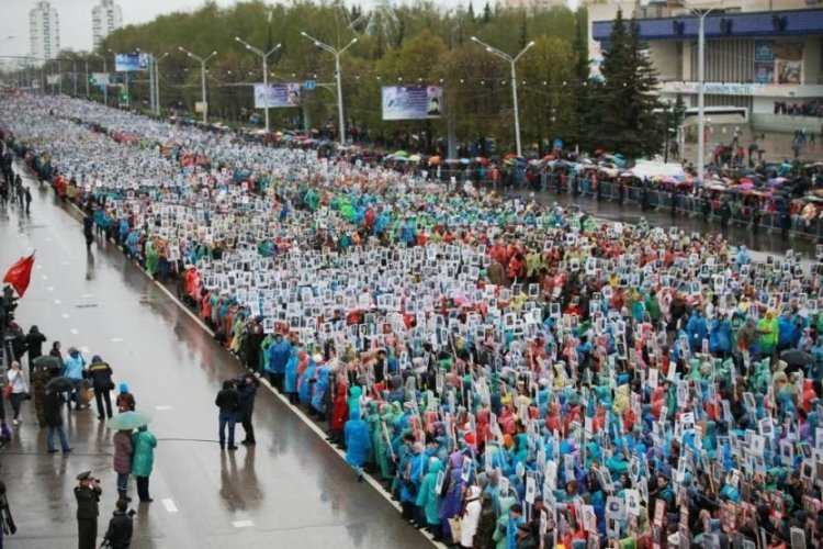 В Уфе состоится шествие «Бессмертный полк» (схема построения)