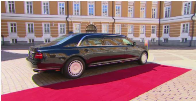 В новом лимузине Путина установлены амортизаторы, произведенные в Башкирии