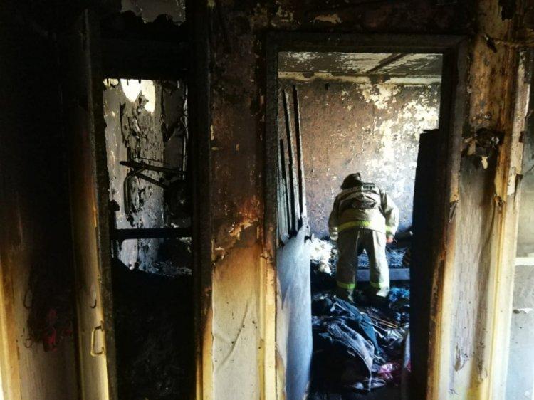 В Башкирии из горящей многоэтажки эвакуированы 10 человек, в том числе дети и беременная