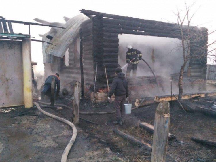 Двое погибли в ночном пожаре в Башкирии