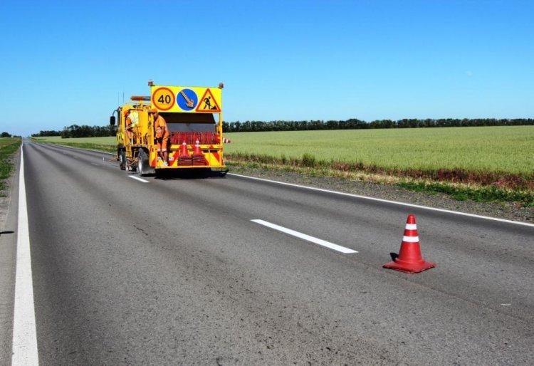 ФКУ Упрдор «Приуралье» ведет активные работы по нанесению дорожной разметки на федеральных автотрассах