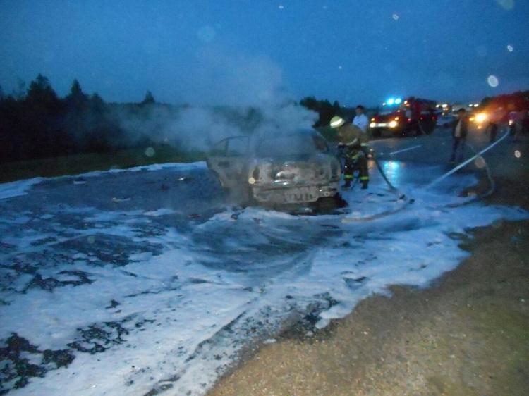 Шесть человек, среди которых дети, пострадали в «огненном» ДТП в Башкирии