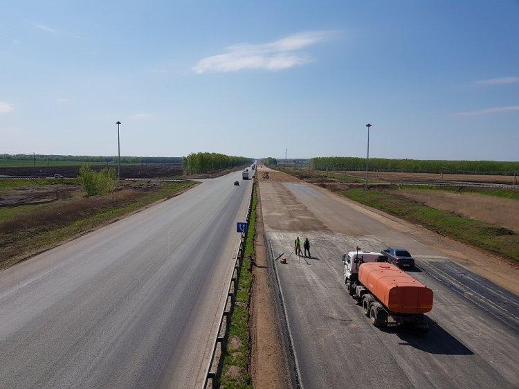 Строительство 11 км трассы М-5 «Урал» в Башкирии вышло на новый этап