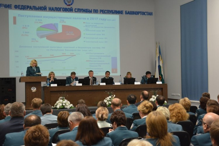 Налоговики Башкирии подвели итоги работы за 1 квартал  и обсудили основные задачи до конца года