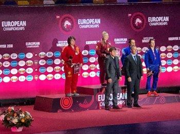Башкирская спортсменка Яна Шорохова стала победительницей Первенства Европы по грэпплингу
