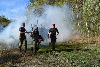 В Уфе военнослужащие Приволжского округа Росгвардии прошли испытания на право ношения крапового берета