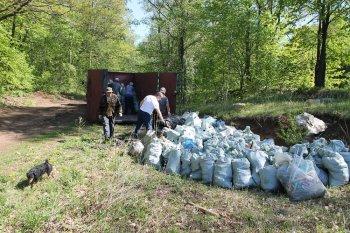 Активисты ОНФ в Республике Башкортостан ликвидировали незаконные свалки вокруг села Марковский