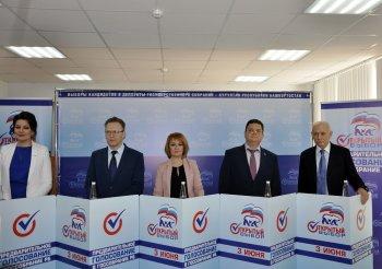 Глава Башкортостана принял участие в дебатах «Единой России»