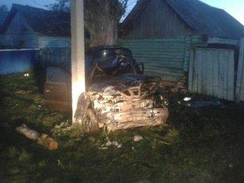 Смертельное ДТП в Башкирии: водитель слетел в кювет и врезался в опору ЛЭП