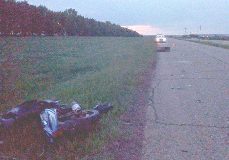 В Стерлитамакском районе Башкирии 15-летний школьник на скутере попал в ДТП
