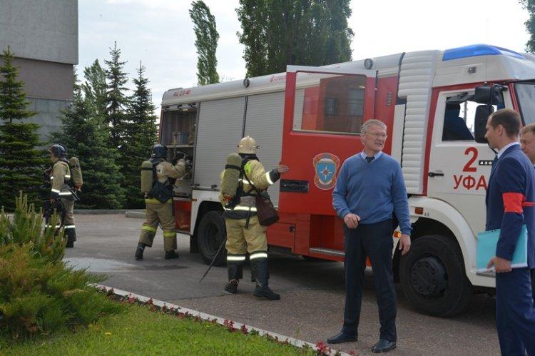 В налоговом ведомстве Башкортостана проведены  тактико-специальные учения по гражданской обороне