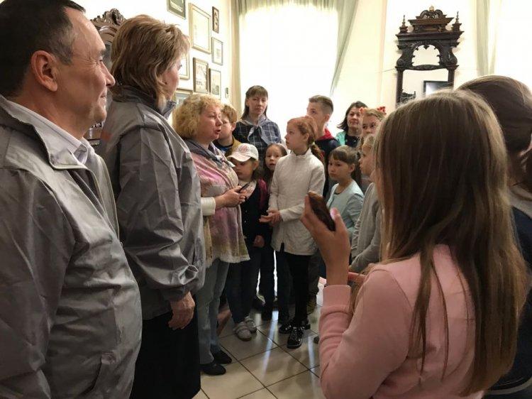 Активисты ОНФ организовали для детей посещение краеведческого музея в Стерлитамаке
