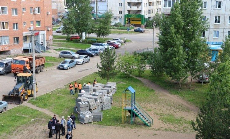 В Октябрьском районе  Уфы  началась реализация проекта «Городская среда»