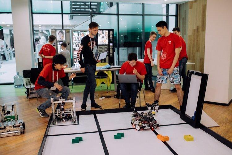 Роботы-спасатели из Стерлитамака – призеры WRO-2018