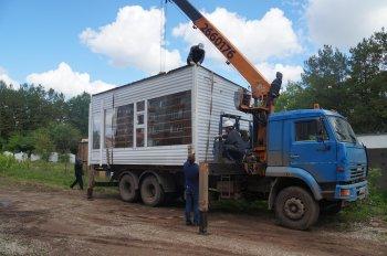 В Башкирии снесли незаконную автостоянку
