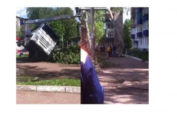 В Стерлитамаке двое рабочих  упали с высоты 15 метров
