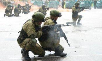 Юные патриоты из Башкирии обучаются военному делу Пензенской области