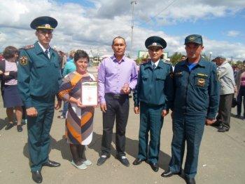 Житель Башкирии удостоен награды МЧС РФ за спасение троих детей при пожаре