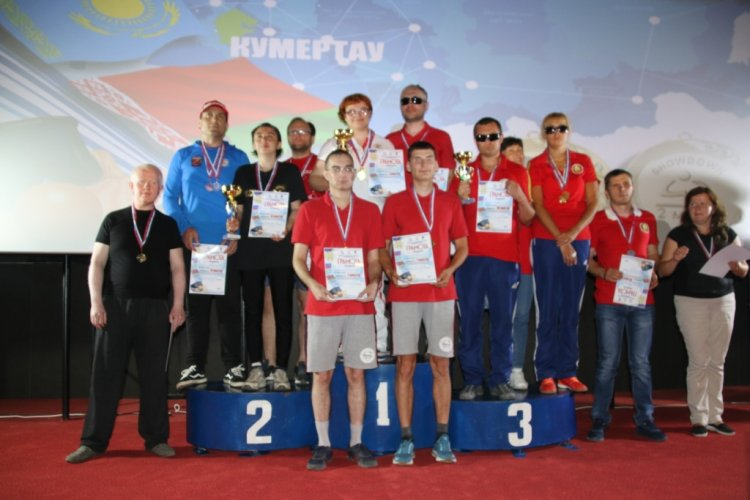 В Кумертау завершился Открытый Кубок Содружества Независимых Государств по настольному теннису для слепых