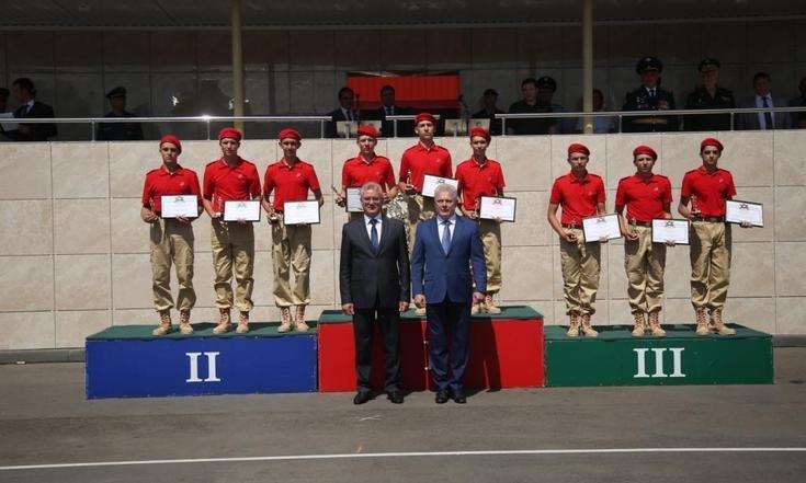 Команда Башкортостана  -серебряный призер юнармейского оборонно-спортивного лагеря «Гвардеец-2»