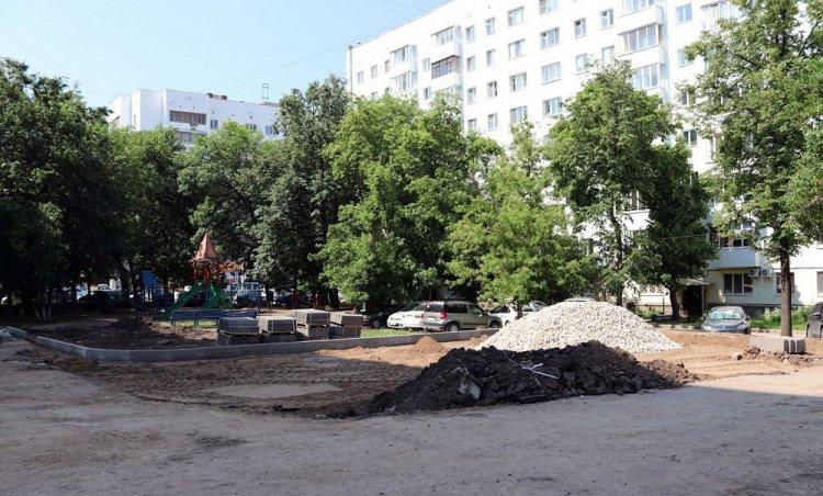 В Ленинском районе Уфы на благоустройство дворов потратят 6,4 млн рублей