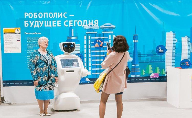 Вторжение роботов в Стерлитамаке!